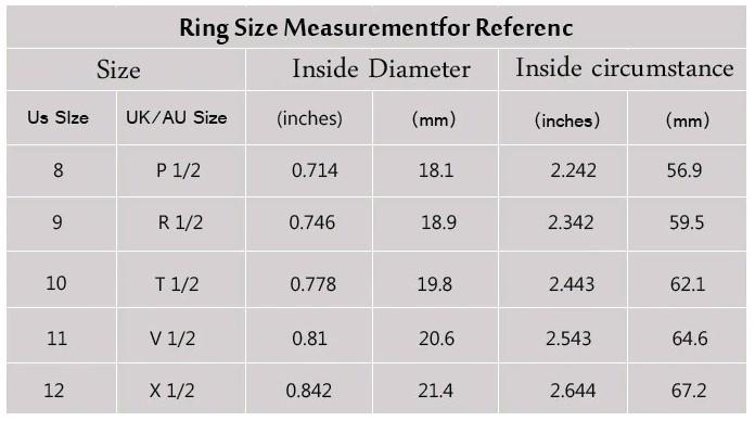 templar ring - size