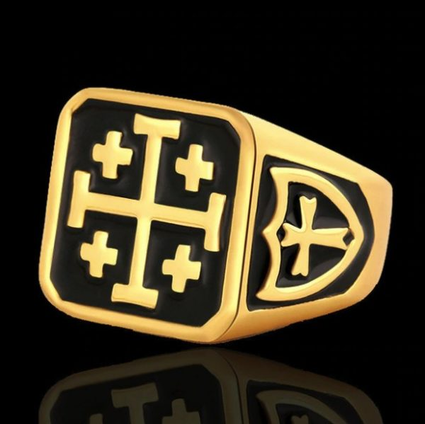 Jerusalem Cross Ring