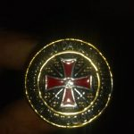 templar ring with cross