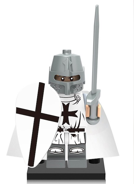 knights templar figure